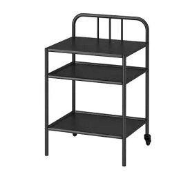 IKEAイケアFYRESDAL フィーレスダルベッドサイドテーブル, ブラック 803.203.52