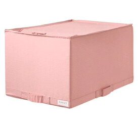 IKEA STUK ストゥーク 収納ケース, ピンク 104.172.20
