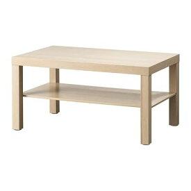 IKEA イケア LACK コーヒーテーブル ホワイトステインオーク調 90x55cm 904.315.33