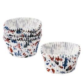 IKEA VINTERFEST ヴィンテルフェストベーキングカップ, ホワイト, 模様入り 804.321.04【メール便不可】