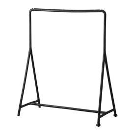 IKEA TURBO イケア 洋服ラック ブラック 室内/屋外用 501.772.42