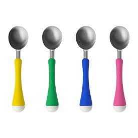 イケア IKEA CHOSIGT アイスクリームスクープ, ピンク、イエロー、グリーン, ブルー 102.082.45 【メール便不可】