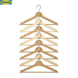 イケア ブメラング IKEA BUMERANG ハンガー ナチュラル 8ピース 302.385.38