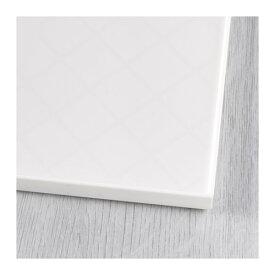 IKEA LURVIG イケア ペット用 フードボウル用プレースマット、縁付き, ホワイト 903.782.10