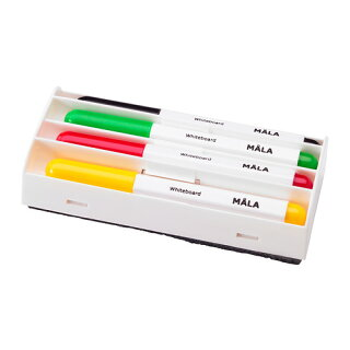 IKEAMALAイケアホワイトボードペン,アソートカラー4ピース501.933.17【メール便不可】