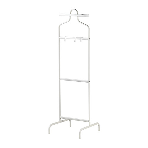 イケア IKEA MULIG ヴァレットスタンド ホワイト 302.191.44 【メール便不可】
