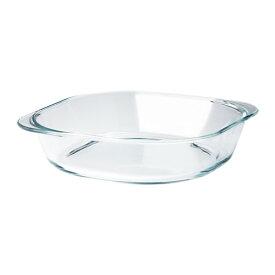 IKEA FOLJSAM イケア オーブン皿, クリアガラス 303.112.70【メール便不可】