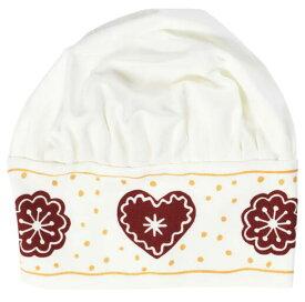 IKEA イケア VINTER 2020 ヴィンテル 2020子ども用帽子, ジンジャーブレッド模様 ホワイト/ブラウン 104.724.19【メール便不可】