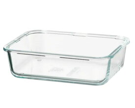 【NEW】IKEAイケアIKEA 365+保存容器, 長方形, ガラス, 1.0 l103.592.01
