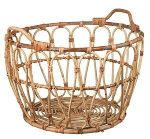 【NEW】IKEA イケアSNIDAD スニダードバスケット, 籐, 54x39 cm003.949.45