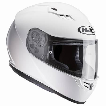 HJC HELMET HJH113 CS-15 SOLID WHITE XL(61-62)エッチジェーシー ヘルメット HJH113 CS-15 ソリッド ホワイト XL(61-62)