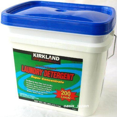 カークランドシグネチャー 粉末洗濯洗剤 12.7kg(約200回分)KIRKLAND SIGNATURE LAUNDRY DETERGENT 12.7kg 200loads