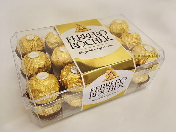 フェレロ ロシェ チョコレート ヘーゼルナッツ 30粒入り 375gFERRERO ROCHER chocolate