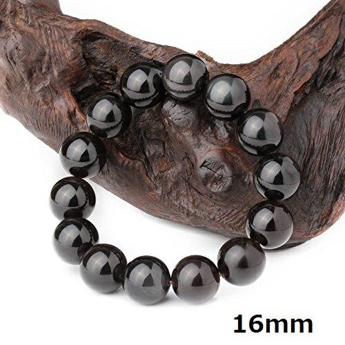 [O-stone] [Apachi] 天然石 パワーストーン AAA級 極品 アイスランド産 レインボー オブシディアン ト 氷種 黒曜石 天然石 ブレスレット 直径8mm 10mm 12mm 14mm 16mm玉 ディザインにこだわり 円珠 ブレスレット【thxgd_18】