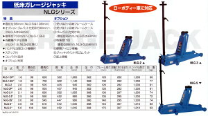 低床ガレージジャッキNLG-1.8H*