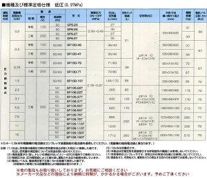 給油式低圧エアーコンプレッサー(圧力開閉器式)SP106-22T