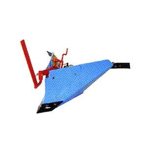ラッキーFU655/FU755用 ブルー溝浚器(尾輪付) #10974 ホンダ(HONDA)