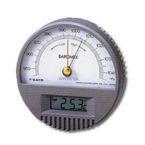 農業用測定器 気圧計 バロメックス気圧計(温度計付) オガ電子