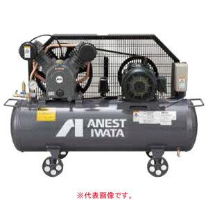 エアーコンプレッサー レシプロオイル式 タンクマウント型 三相200V TLP22EF-14 M6(60Hz) アネスト岩田