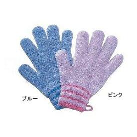 オカモト 浴用手袋やさしい手 1双入 / 1160A ブルー