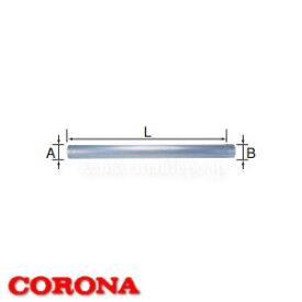給排気筒延長部材 直管 UFG-1-900 CORONA(コロナ)