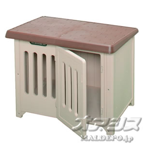 Doghouse Bob house 950 (with a door) brown / beige  sc 1 st  Rakuten & oasisu | Rakuten Global Market: Doghouse Bob house 950 (with a door ...