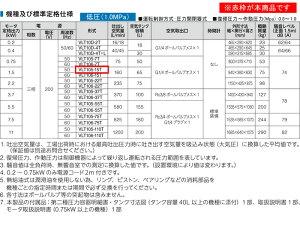 TOSHIBA(東芝)無給油式エアーコンプレッサー(圧力開閉器式)VLT105-15T50Hz