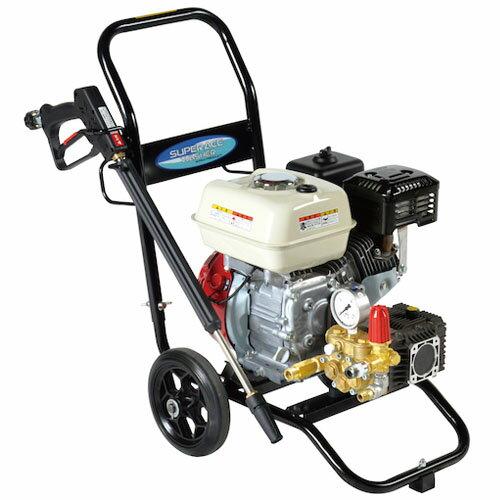 高圧洗浄機 スーパーエースウォッシャー エンジン式/10Mpa SEC-1310-2N スーパー工業