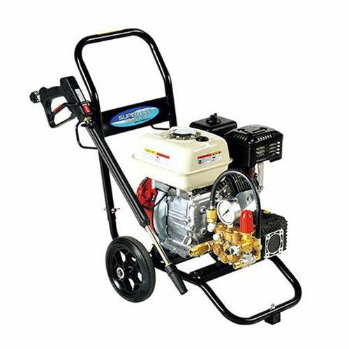 高圧洗浄機 スーパーエースウォッシャー エンジン式/15Mpa SEC-1315-2N スーパー工業