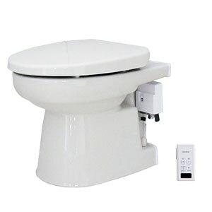 簡易水洗便器 オート洗浄タイプ 普通便座 パステルアイボリー FAI-07(PI) ダイワ化成