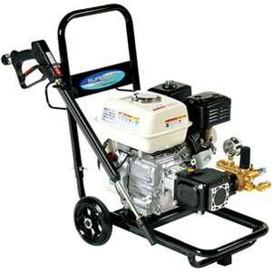 高圧洗浄機 スーパーエースウォッシャー エンジン式/15Mpa SEC-1015-2N スーパー工業