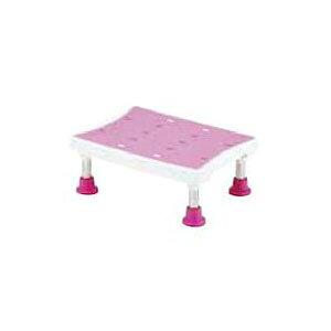 浴槽台 アシスト 3段階 ライトピンク YAS-M02LP マキテック 高さ15-20cm