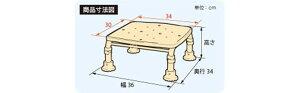 安寿ステンレス製浴槽台Rあしぴたジャスト20-30レッド536-498高さ20-30cm