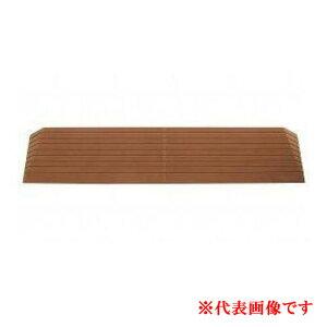 硬質ゴム製すべり止め段差解消スロープ ダイヤスロープ DS100-15 シンエイテクノ 高さ1.5cm