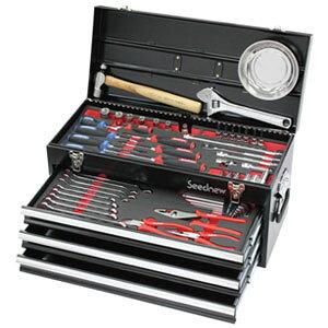 角工具セット 黒 9.5sq 59pc S-59313BL Seednew