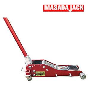 軽量アルミ製 手動式 2tジャッキ SJ-20AL MASADA(マサダ製作所)