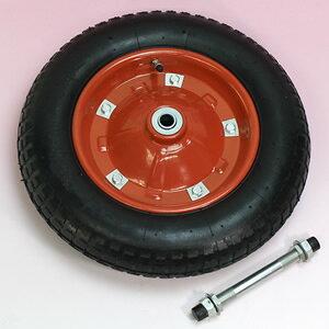 一輪車タイヤ PR1301 3.25x3.00-8 黒 軸付