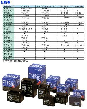 二輪車用MFバッテリーFT9B-4