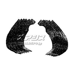 サラダ FF300/FFV300用 爪交換セット #11441 ホンダ(HONDA)