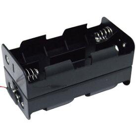 電機牧柵器 電池ホルダー コード付 単1x8本用 スイデン