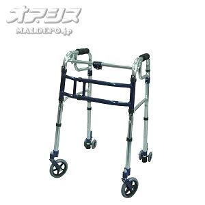 歩行器 スライドフィット ハイタイプ 室内・屋外兼用 L-0195C 5インチキャスター ユーバ産業