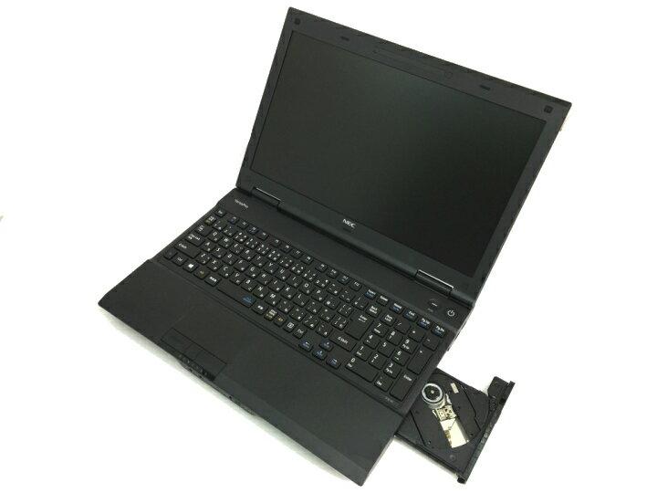 中古パソコン 中古ノートパソコン Windows10 NEC VersaProシリーズ 高スペック Corei5CPU搭載 8Gメモリー 新品SSD 15.6型ワイド画面 最新OS Office付 無線LAN対応 中古動作良好品【送料無料】