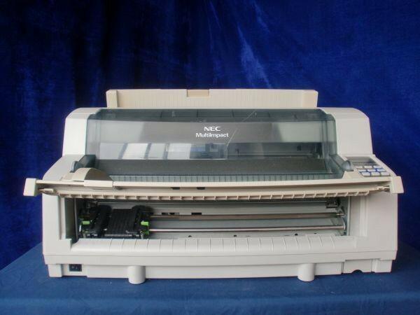中古プリンター ドットプリンター NEC MultiImpact 700JX3N PR-D700JX3N パラレル 有線LAN接続対応 ドットインパクトプリンタ 整備清掃済【送料無料】【美品】