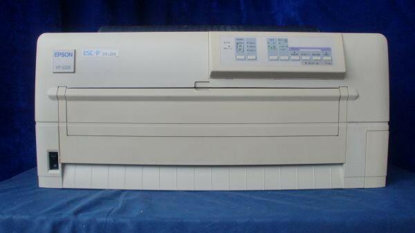 中古プリンター ドットプリンター EPSON IMPACT-PRINTER VP-5200 パラレル 有線LAN接続対応 ドットインパクトプリンタ 整備清掃済 送料無料【岐阜出荷】