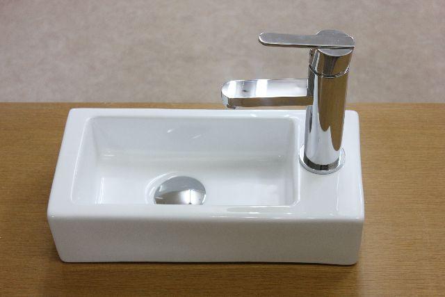 洗面ボウル(洗面ボール 手洗い鉢)+排水栓、排水Sトラップ セット おしゃれ 洗面器 洗面台 洗面化粧台 手洗い器 手洗いボウル 陶器 洗面ボウルKORS-1134