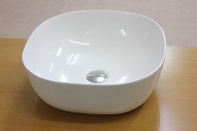 洗面ボウル(洗面ボール 手洗い鉢)+排水栓、排水Sトラップ セット おしゃれ 洗面器 洗面台 洗面化粧台 手洗い器 手洗いボウル 陶器 洗面ボウルKORS-1303