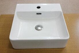 洗面ボウル(洗面ボール 手洗い鉢)+排水栓、排水Sトラップ セット おしゃれ 洗面器 洗面台 洗面化粧台 手洗い器 手洗いボウル 陶器 洗面ボウルKORS-1060