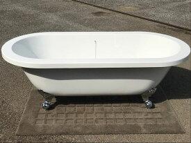 猫足バスタブ 浴槽 猫脚バスタブ バスタブ 浴そう お風呂 置き型 洋式 エレガント アンティーク アクリル製 KOA208Gゴム栓タイプ