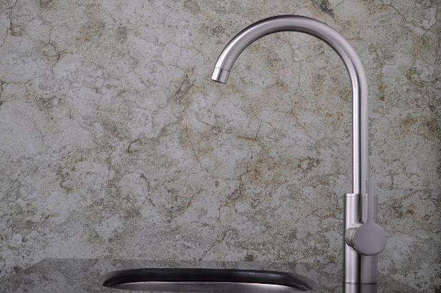 水栓金具 蛇口 水栓 洗面水栓 洗面手洗いボウル用 混合水栓 シングルレバー ワンレバー 洗面用水栓金具 KOJ-43bks
