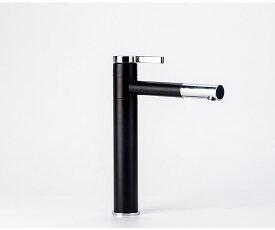 水栓金具 蛇口 水栓 洗面水栓 洗面手洗いボウル用 台所用水栓 混合水栓 シングルレバー ワンレバー 洗面用水栓金具 KOJ-084h